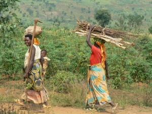 Boerinnen bij Niagataré